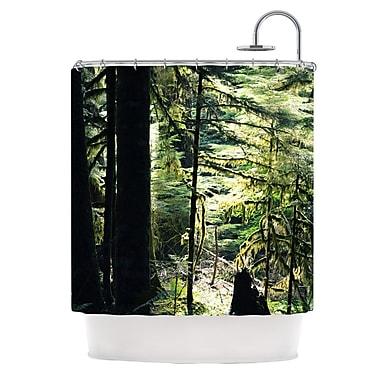 KESS InHouse Enchanted Shower Curtain