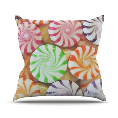 KESS InHouse I Want Candy Throw Pillow; 26'' H x 26'' W
