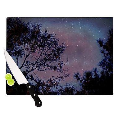 KESS InHouse Twilight Cutting Board; 8.25'' H x 11.5'' W x 0.25'' D