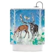 KESS InHouse Glade Shower Curtain