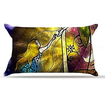 KESS InHouse Fairy Tale Off To Neverland Pillow Case; King