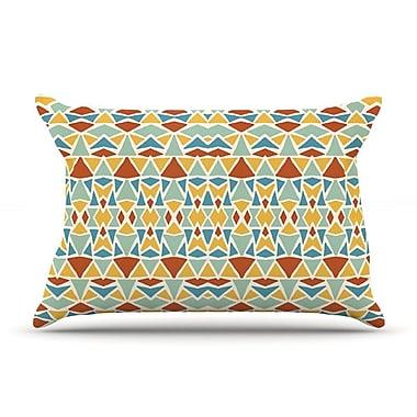 KESS InHouse Tribal Imagination Pillow Case; Standard