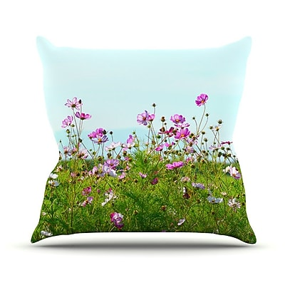 KESS InHouse I Choose Magic Throw Pillow; 16'' H x 16'' W