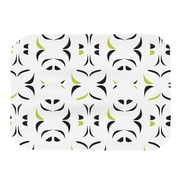 KESS InHouse Retro Green Snow Storm Placemat