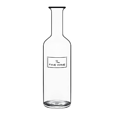 Luigi Bormioli Optima Wine Carafe; 1 Liter