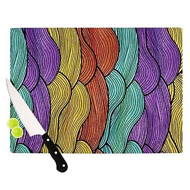 KESS InHouse Textiles 2 Cutting Board; 8.25'' H x 11.5'' W x 0.25'' D