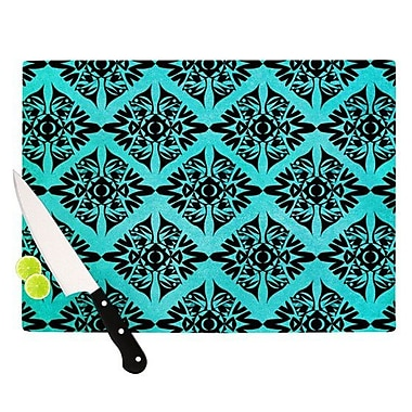 KESS InHouse Eye Symmetry Pattern Cutting Board; 8.25'' H x 11.5'' W x 0.25'' D