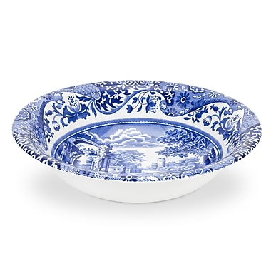 Spode Blue Italian 6.5'' Cereal Bowl (Set of 4)