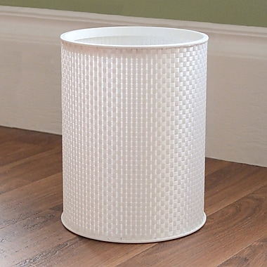 LaMont 1530 Home Waste Baskets; White