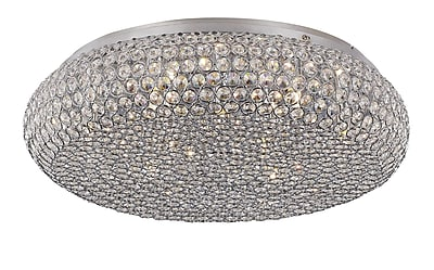 TransGlobe Lighting Starlight 9-Light Flush Mount