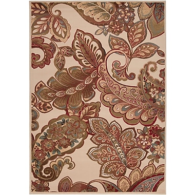 Surya Riley RLY5019-38 Machine Made Rug, 3' x 8' Rectangle
