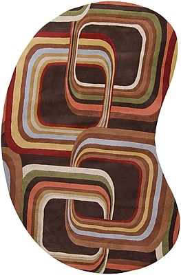 Surya Campbell Laird Forum FM7007-69KDNY Hand Tufted Rug, 6' x 9' Kidney