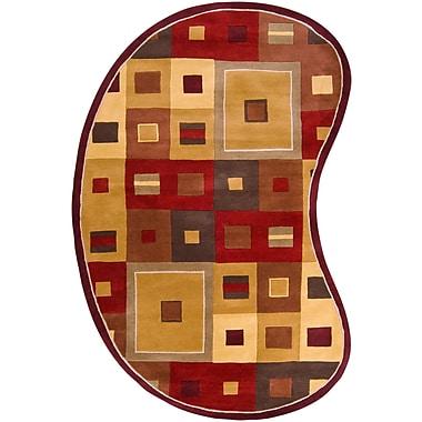 Surya Forum FM7014-69KDNY Hand Tufted Rug, 6' x 9' Kidney