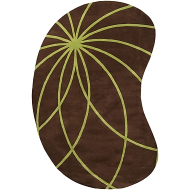 Surya Forum FM7073-810KDNY Hand Tufted Rug, 8' x 10' Kidney