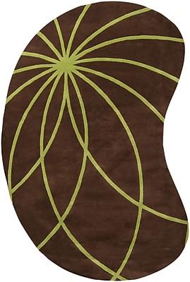 Surya Forum FM7073-69KDNY Hand Tufted Rug, 6' x 9' Kidney