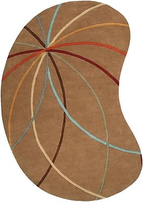 Surya Forum FM7140-69KDNY Hand Tufted Rug, 6' x 9' Kidney