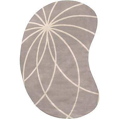 Surya Forum FM7184-810KDNY Hand Tufted Rug, 8' x 10' Kidney