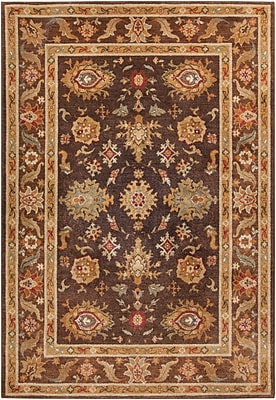 Surya Arabesque ABS3010-5373 Machine Made Rug, 5'3