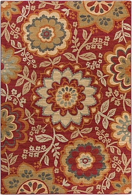 Surya Arabesque ABS3017-110211 Machine Made Rug, 1'10