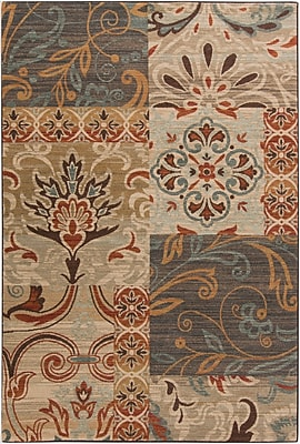 Surya Arabesque ABS3026-710910 Machine Made Rug, 7'10