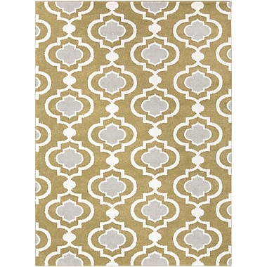 Surya Horizon HRZ1019-23 Machine Made Rug, 2' x 3' Rectangle