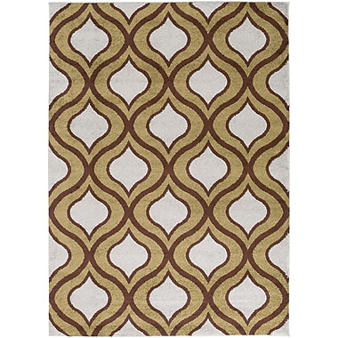 Surya Horizon HRZ1037-5373 Machine Made Rug, 5'3