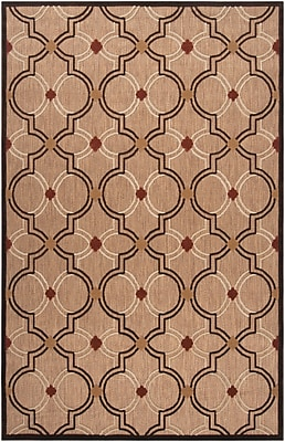 Surya Portera PRT1049-576 Machine Made Rug, 5' x 7'6