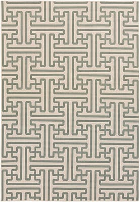 Surya Alfresco ALF9601-69 Machine Made Rug, 6' x 9' Rectangle