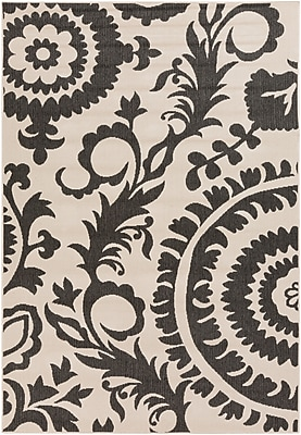 Surya Alfresco ALF9612-69 Machine Made Rug, 6' x 9' Rectangle