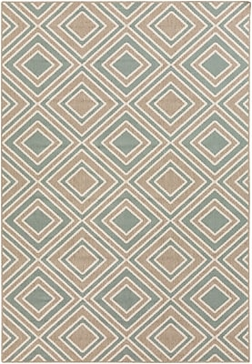 Surya Alfresco ALF9620-69 Machine Made Rug, 6' x 9' Rectangle
