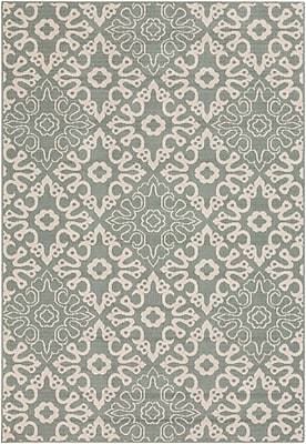 "Surya Alfresco ALF9634-5376 Machine Made Rug, 5'3"" x 7'6"" Rectangle"