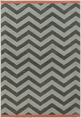 Surya Alfresco ALF9643-5376 Machine Made Rug, 5'3
