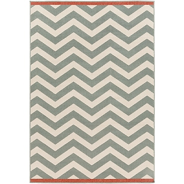 Surya Alfresco ALF9644-69 Machine Made Rug, 6' x 9' Rectangle
