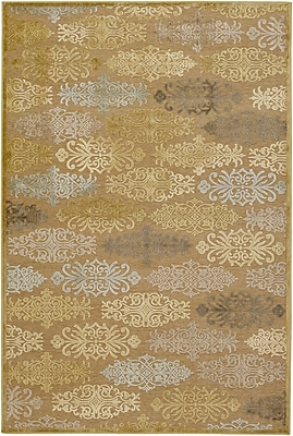Surya Basilica BSL7131-457 Machine Made Rug, 4' x 5'7