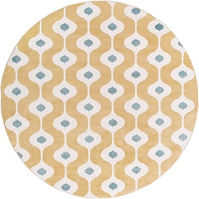 Surya Horizon HRZ1074-710RD Machine Made Rug, 7'10
