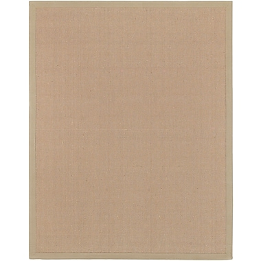 Surya Soho Beige Hand Woven Rug, 8' x 10' Rectangle