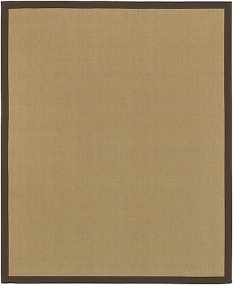 Surya Soho BROWN Hand Woven Rug, 8' x 10' Rectangle