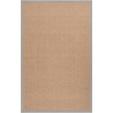 Surya Soho TAUPE Hand Woven Rug, 5' x 8' Rectangle