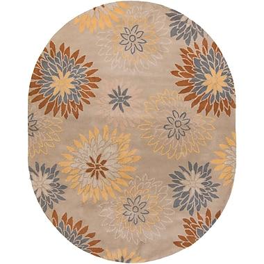 Surya Athena ATH5106-69OV Hand Tufted Rug, 6' x 9' Oval