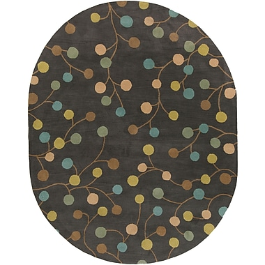 Surya Athena ATH5110-69OV Hand Tufted Rug, 6' x 9' Oval