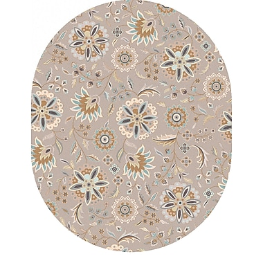 Surya Athena ATH5127-810OV Hand Tufted Rug, 8' x 10' Oval