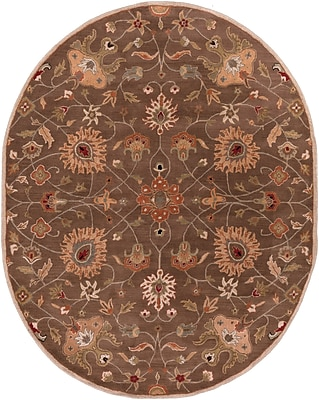 Surya Caesar CAE1086-810OV Hand Tufted Rug, 8' x 10' Oval