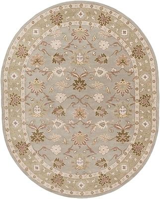 Surya Caesar CAE1126-810OV Hand Tufted Rug, 8' x 10' Oval