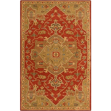 Surya Caesar CAE1147-69 Hand Tufted Rug, 6' x 9' Rectangle