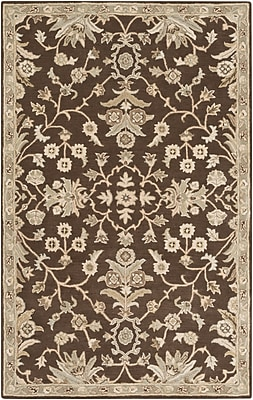 Surya Caesar CAE1150-4SQ-SQ Hand Tufted Rug, 4' Rectangle