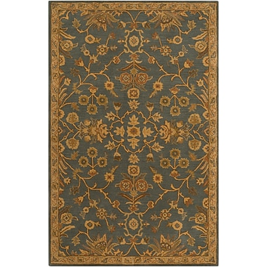 Surya Caesar CAE1153-46 Hand Tufted Rug, 4' x 6' Rectangle