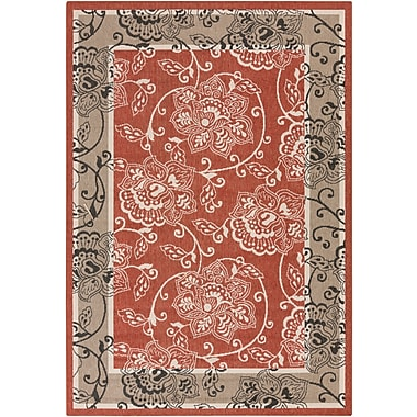Surya Alfresco ALF9593-5376 Machine Made Rug, 5'3