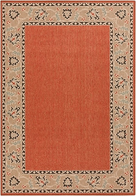 "Surya Alfresco ALF9598-3656 Machine Made Rug, 3'6"" x 5'6"" Rectangle"