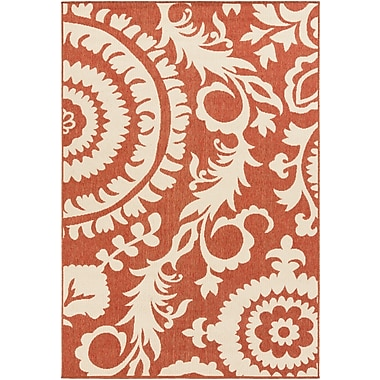Surya Alfresco ALF9613-76109 Machine Made Rug, 7'6