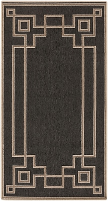 "Surya Alfresco ALF9630-23119 Machine Made Rug, 2'3"" x 11'9"" Rectangle"